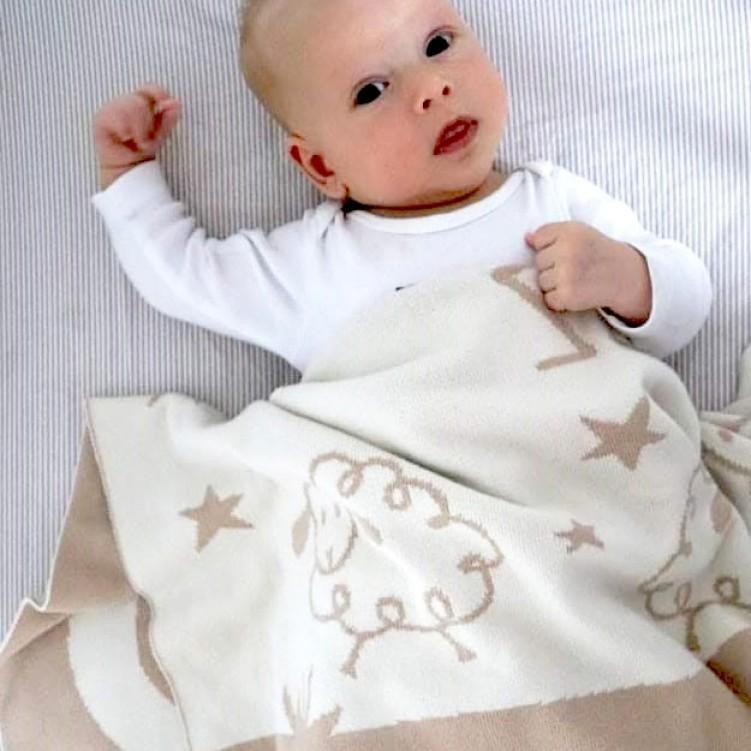 baby blanket lamb sand 05